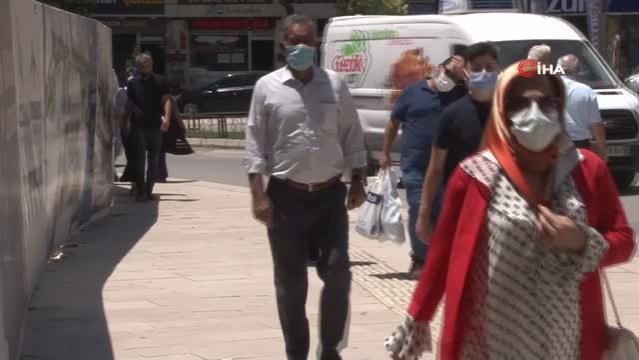 Elazığ'da bunaltıcı sıcaklık, termometreler 39'u gösterdi