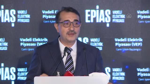 Enerji ve Tabii Kaynaklar Bakanı Dönmez, EPİAŞ Vadeli Elektrik Piyasası açılış törenine katıldı (2)