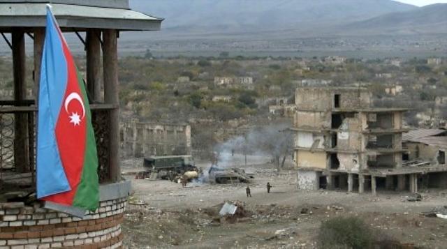 Ermenistan'dan yenilgiyi sindiremedi! Çekildikleri Ağdam'ı harabeye çevirdiler
