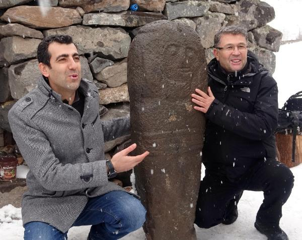 'Türk'ün tapu senedi' niteliğinde olan bir 'taşbaba' heykeli daha bulundu