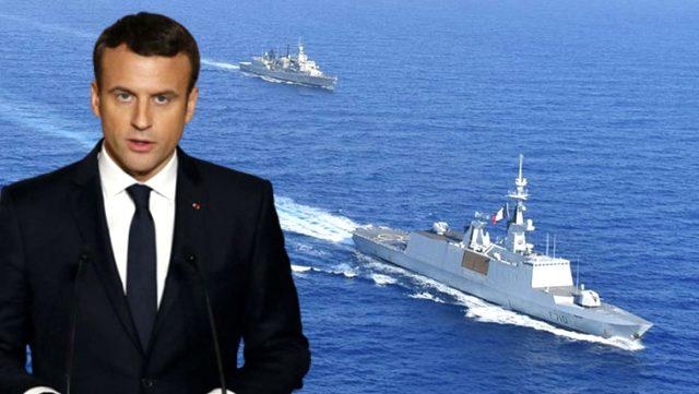 Fransa'dan Türkiye'ye küstah Doğu Akdeniz tehdidi: Yaptırım seçeneği masada