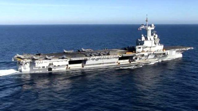 Fransa gerilimi tırmandırıyor! Donanmadaki en güç silahı Doğu Akdeniz'e doğru yola çıktı