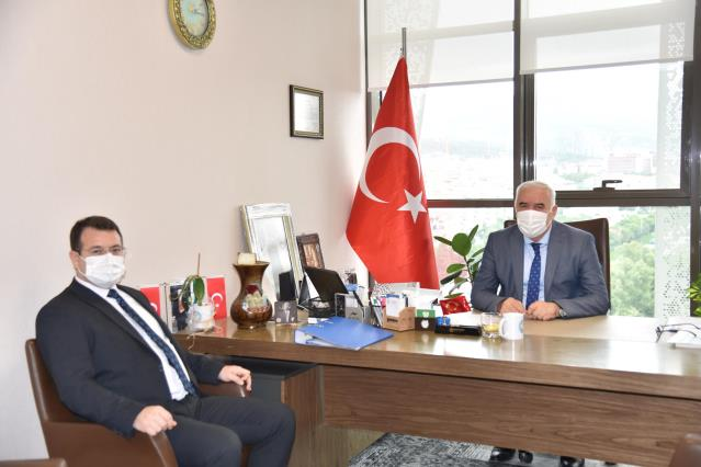 Gülgeç'ten Büyükşehir'e ziyaret