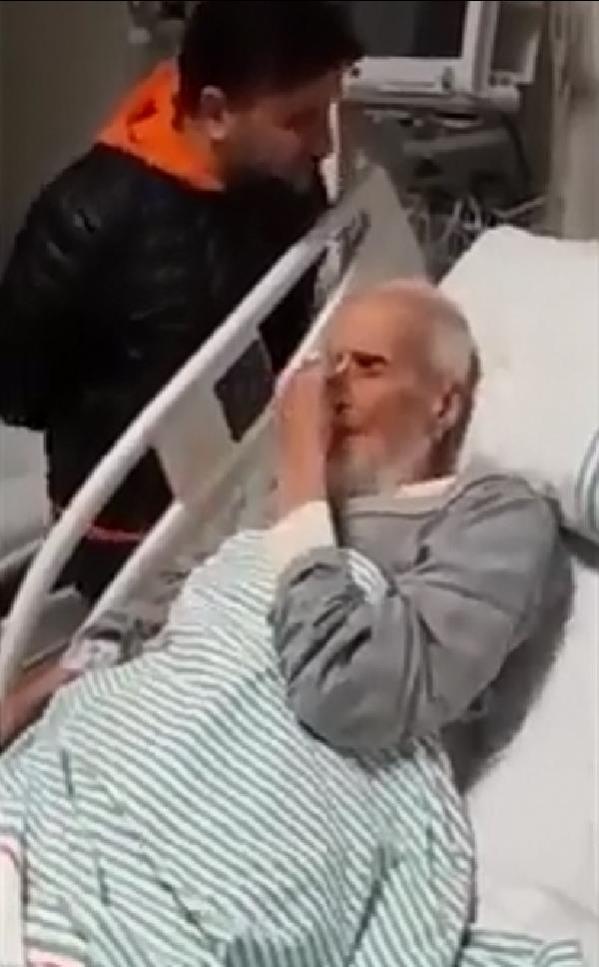 Hafız Abdullah Nazırlı'nın vefatından önceki son görüntüleri ortaya çıktı