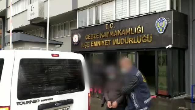 Hırsızlık yaptıkları iddiasıyla yakalanan 2 şüpheliden biri tutuklandı