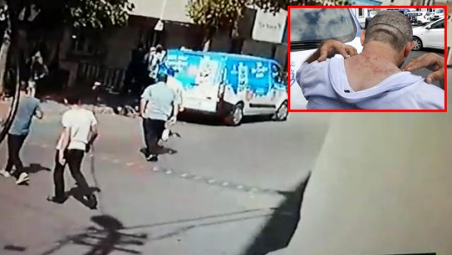 İBB'nin Halk Süt dağıtım ekibi bir grubun saldırısına uğradı