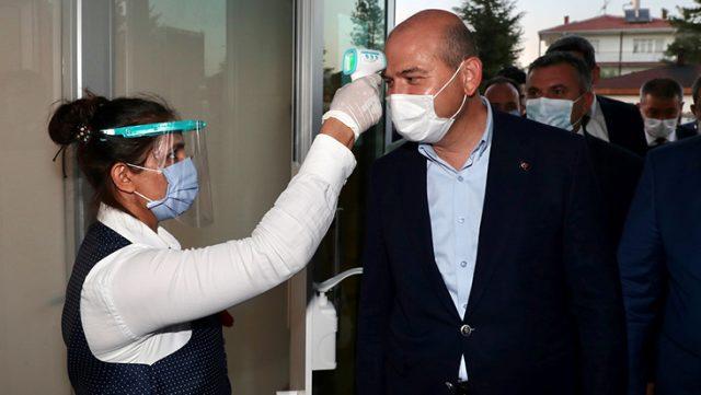 İçişleri Bakanı Soylu denetime katıldı, örnek düğün detayına dikkat çekti