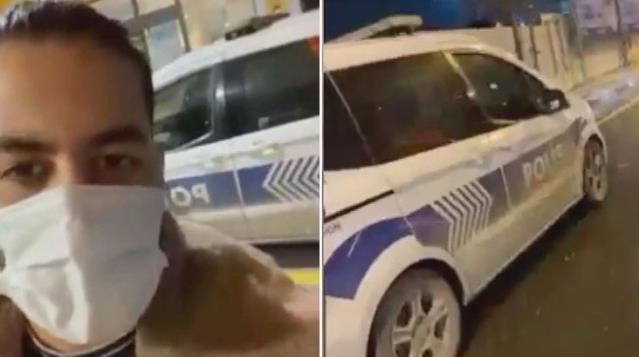 İranlı YouTuber'ın polis aracını kullandığı görüntüler tepki çekmişti! Olayla ilgili bir polis görevden alındı