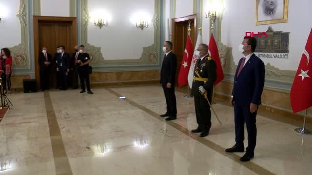 İSTANBUL VALİLİĞİ'NDE 30 AĞUSTOS ZAFER BAYRAMI TÖRENİ