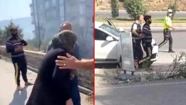 Hatay'da orman yakan iki hain Belen ve Erzin'de böyle yakalandı