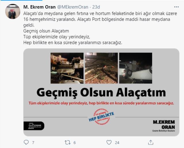 İzmir'de dehşet dolu gece! Görüntüler facianın boyutunu ortaya koydu
