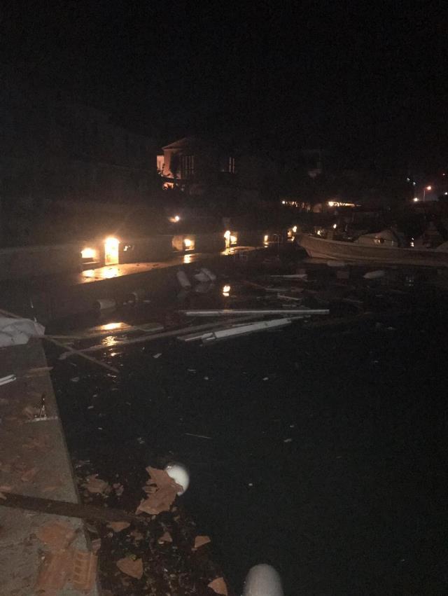 İzmir'de gerilimli gece! Görüntüler facianın boyutunu ortaya koydu