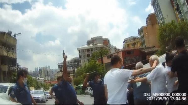 Kağıthane'de iki aile birbirine girdi, polis havaya ateş açtı