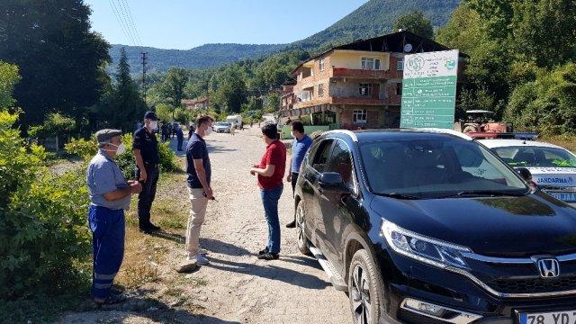 Karabük'te pozitif vakaların görüldüğü Değirmenyanı köyü karantina altına alındı