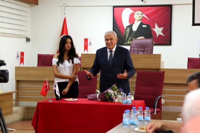 Kent Konseyi yeni yönetimi Başkan Atay ile görüştü