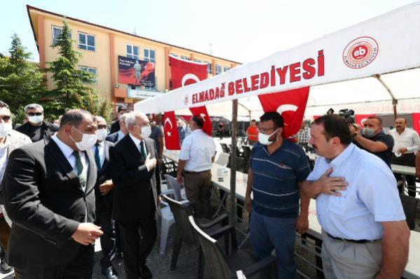 Kılıçdaroğlu'ndan şehit Kaplan'ın ailesine taziye ziyareti