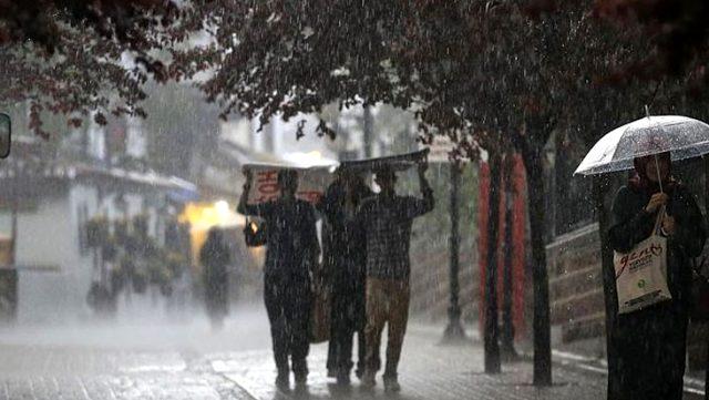 Meteoroloji, 4 il için kuvvetli sağanak yağış uyarısında bulundu