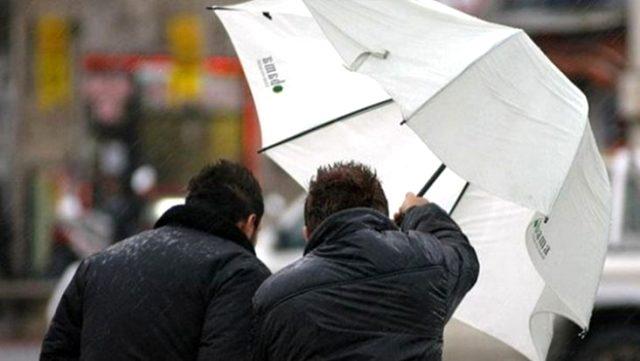 Meteoroloji, 5 il için kuvvetli rüzgar ve fırtına uyarısında bulundu