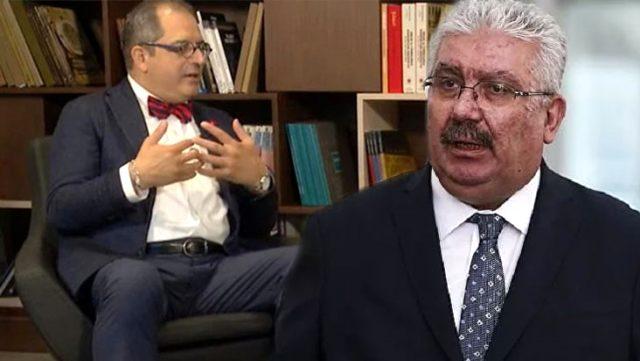 MHP'li Semih Yalçın'dan Bahçeli MHP'yi kapatsın diyen Prof. Dr. Çilingiroğlu'na yanıt: Dilini koparırız