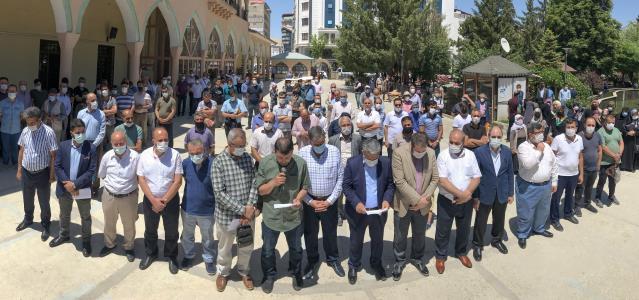 Mısır'da verilen idam kararları Van ve Muş'ta kınandı
