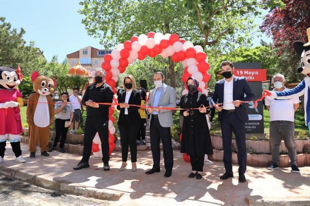 Nevşehir'de 19 Mayıs Parkı törenle açıldı