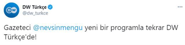 OlayTV'nin kapanmasının ardından Nevşin Mengü, eski adresine geri döndü