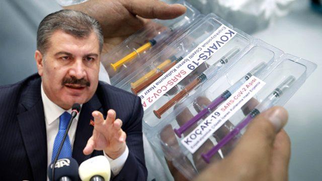 Sağlık Bakanı Koca, müjdesini verdiği yerli aşıyla ilgili detayları paylaştı