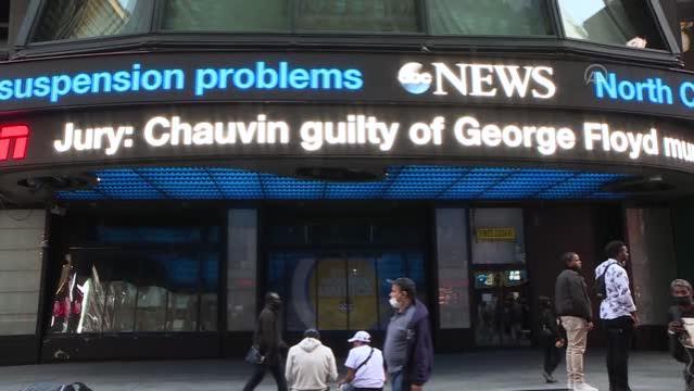 Son Dakika   ABD'de siyahi Floyd davasında eski polis Chauvin'in suçlu bulunması memnuniyetle karşılandı