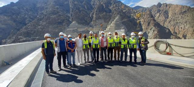 Bakan Pakdemirli: Nadide bir baraj, çok büyük bir yapıt, çok büyük eser