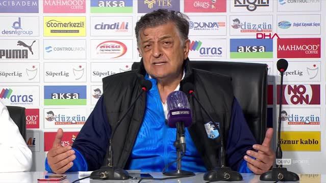 SPOR BB Erzurumspor - Helenex Yeni Malatyaspor maçının ardından