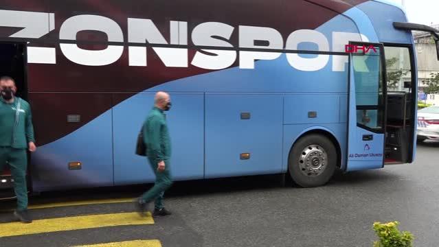 SPOR Trabzonspor, İstanbul'a gitti