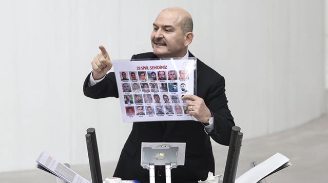 Süleyman Soylu'dan HDP'li vekillere çok ağır sözler: Haysiyetsizler