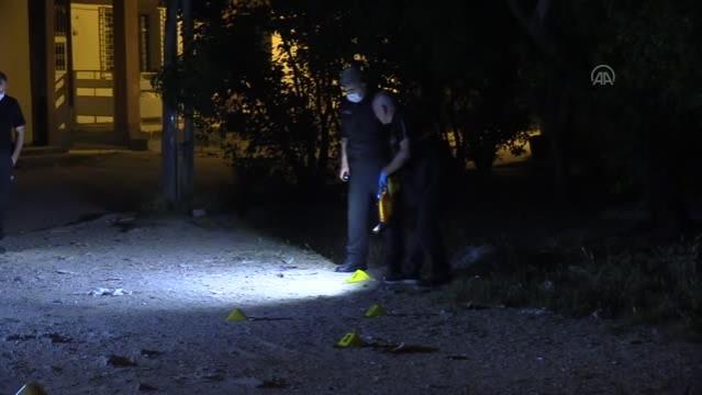Tabancayla vurulan kişi hastaneye kaldırıldı