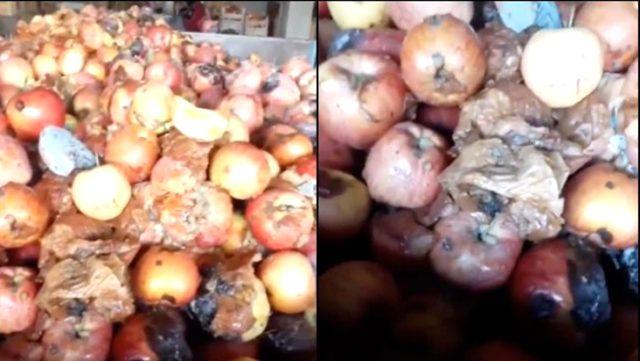 Tarım ve Orman Bakanlığı, 'çürük meyvelerden meyve suyu' görüntülerine inceleme başlattı