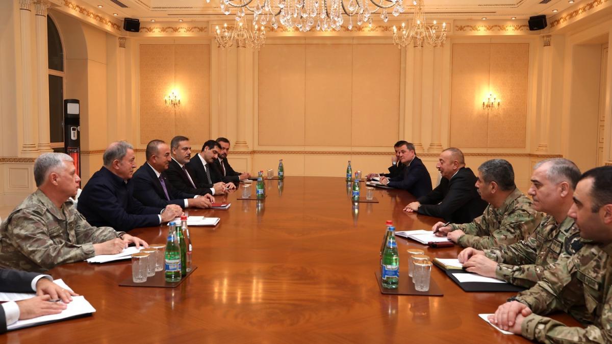 Aliyev: Türkiye ve Rusya'nın eşit role sahip olmasını istedik ve bunu elde ettik