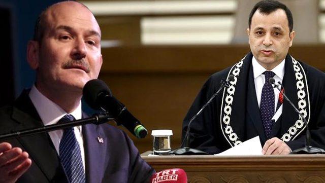 Bakan Soylu'dan çok tartışılacak gönderme: AYM Başkanı'nın aldığı komiser yardımcılarının yüzde 41'ini FETÖ'den ihraç ettim