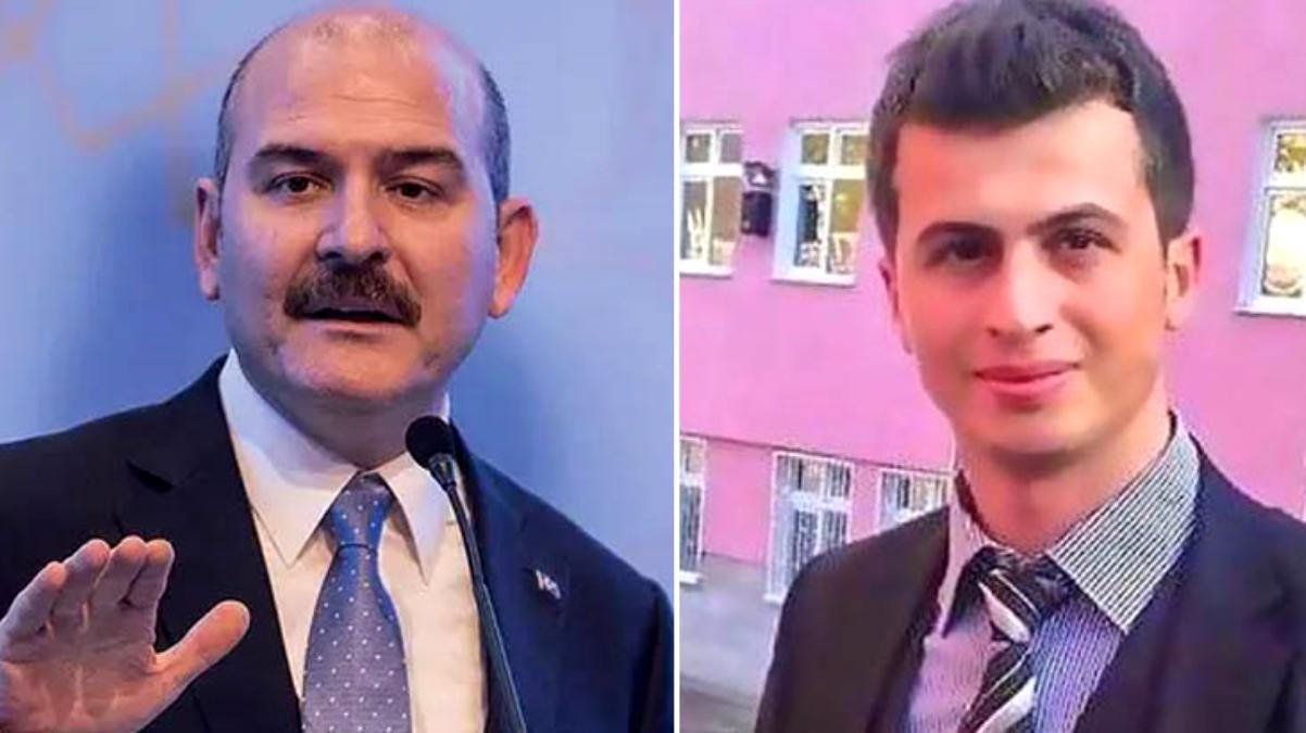 Bakan Soylu, şehit öğretmen Necmettin Yılmaz'ı unutmadı