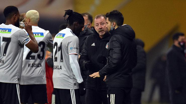 Beşiktaşta NSakala şansı iyi değerlendirdi