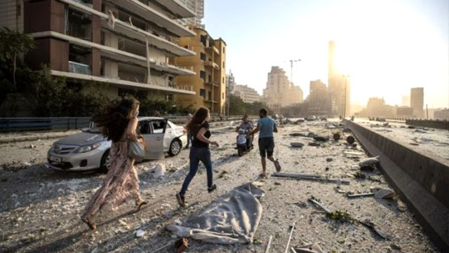 Beyrut'taki patlamalarda 2 Türk vatandaşı yaralandı