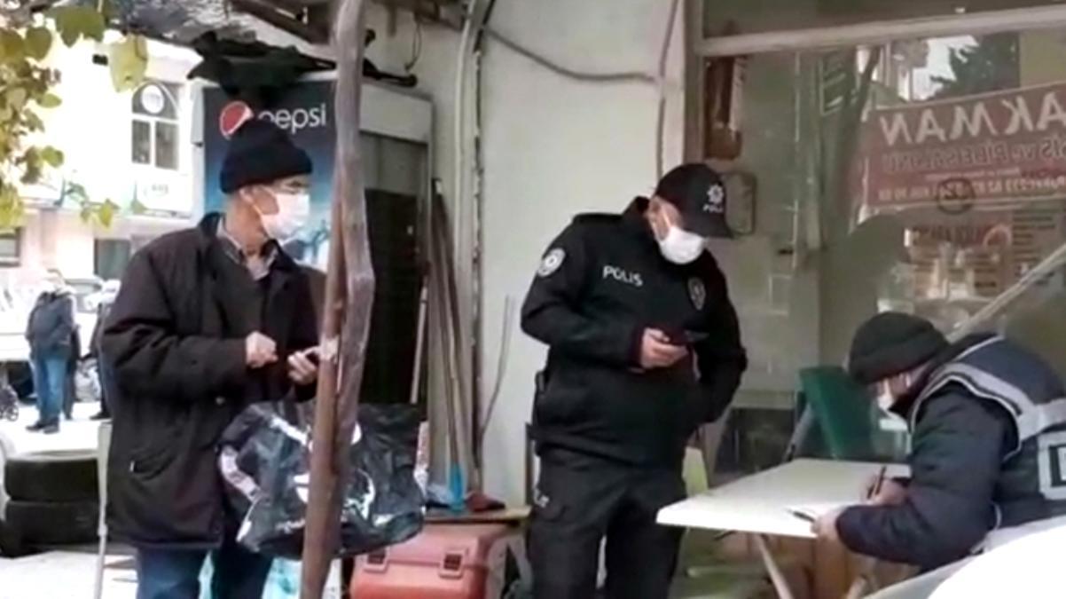 Burdur'da karantinayı ihlal eden vatandaş, pazara girerken yakalandı