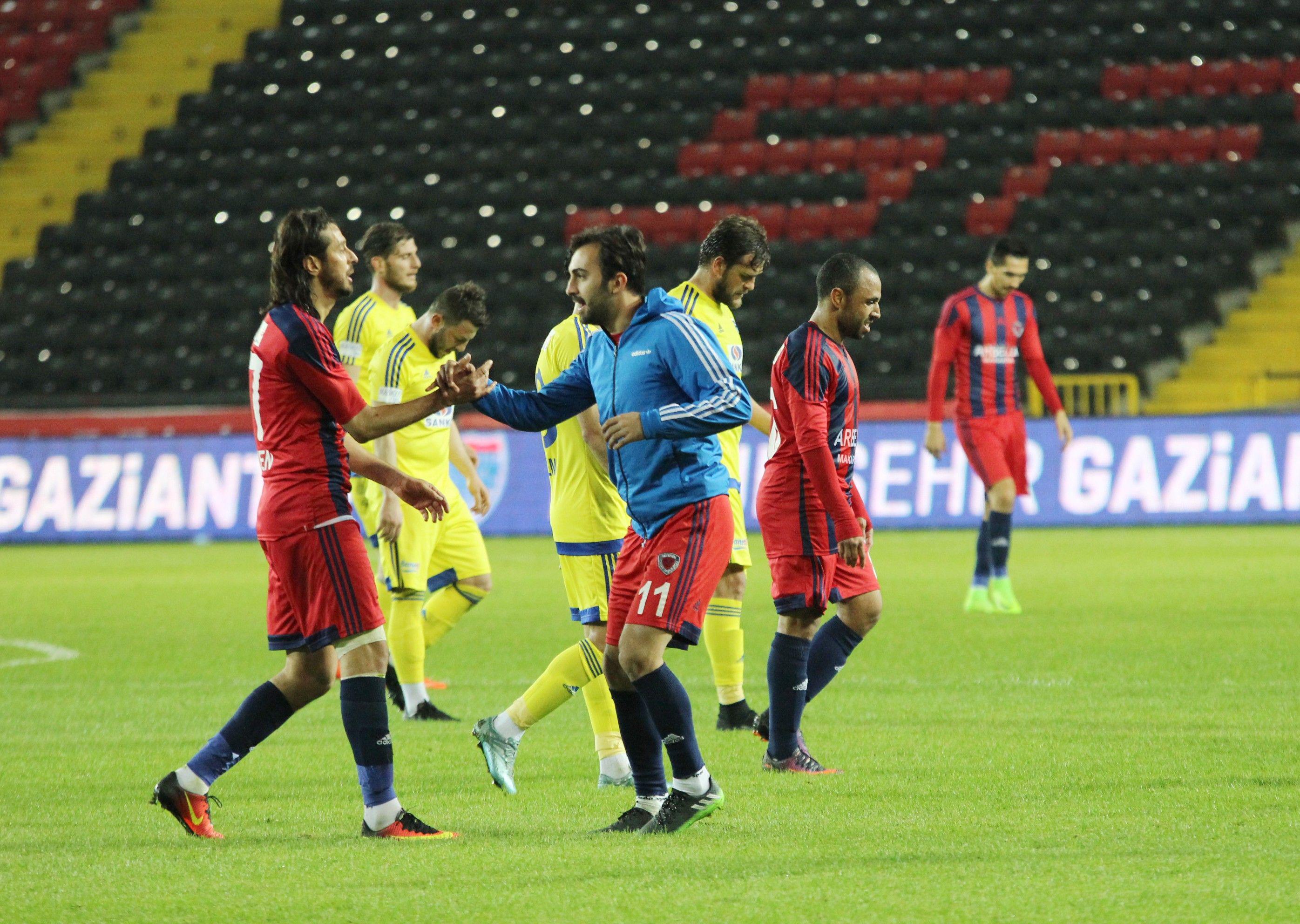 Büyükşehir Gaziantepspor- Mersin İdmanyurdu maç sonucu: 1-2