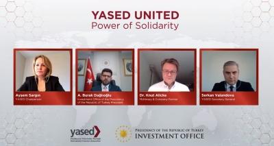 Cumhurbaşkanlığı Yatırım Ofisi Başkanı Burak Dağlıoğlu YASED United'ın konuğu oldu