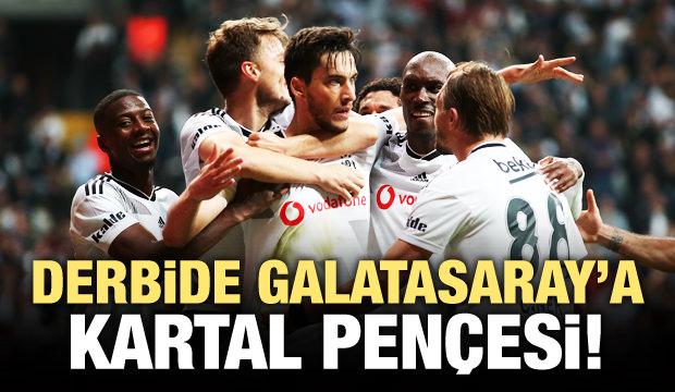 Derbide Galatasaray'a Kartal pençesi!