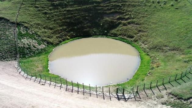 Dibi görünmeyen göle dönüştü