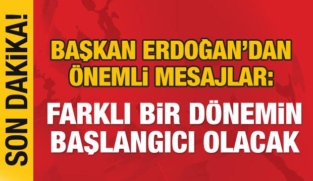 Erdoğan'dan AK Parti teşkilatına önemli mesajlar