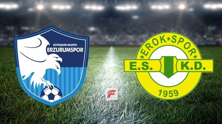 Erzurumspor - Esenler Erokspor maçı ne zaman, hangi kanalda,