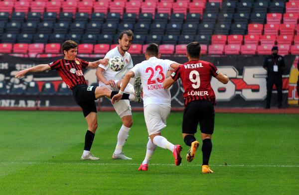 Eskişehirspor-Ümraniyespor maç sonucu: 1-1