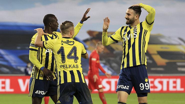 Fenerbahçe ilk yarıyı rekorla bitirdi