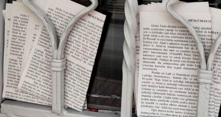 Furkan Vakfı'ndan şeriat çağrısı yapılan bildiri açıklaması: Karanlık bir yerden düğmeye basıldığı açık