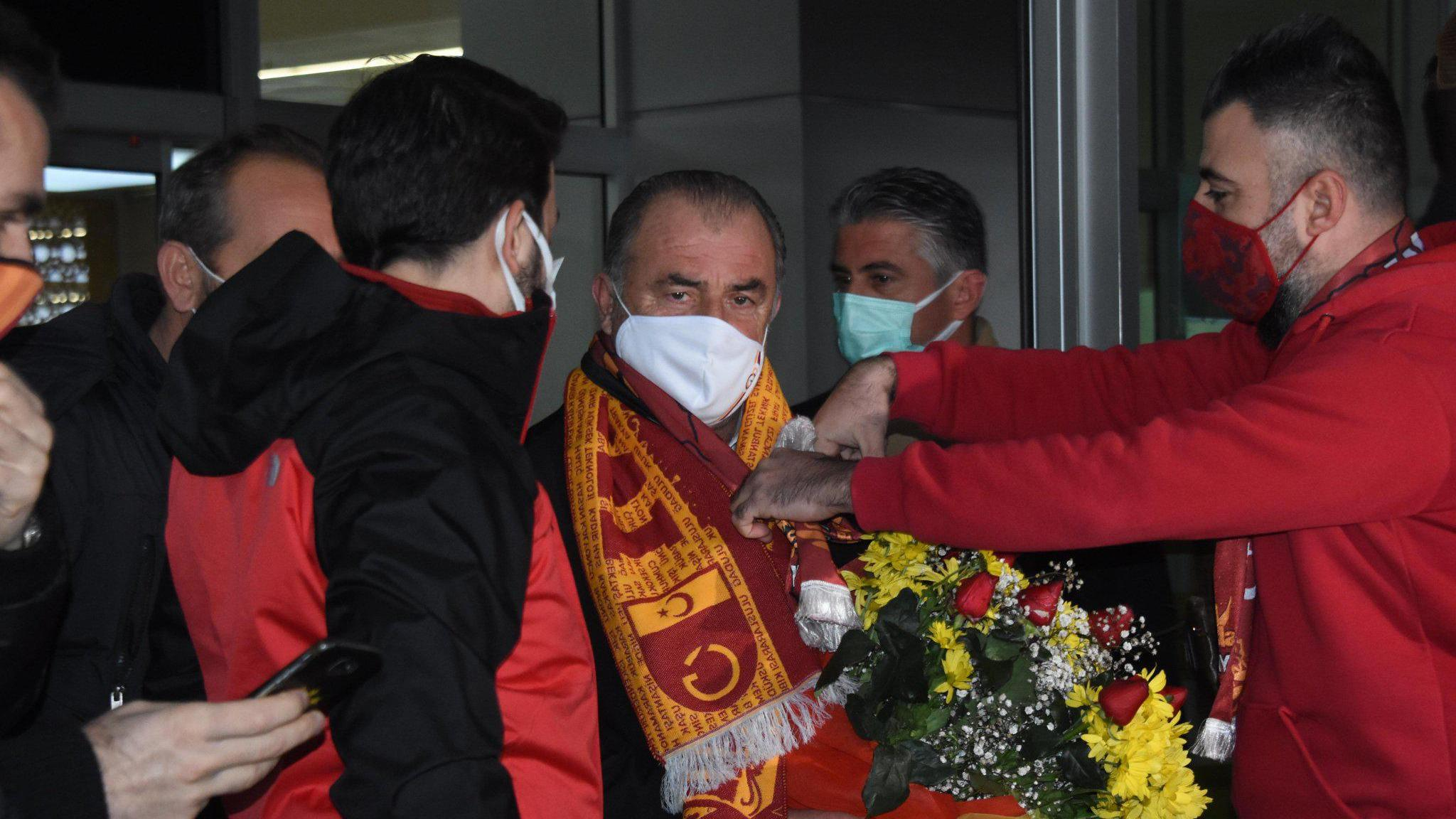 Galatasaray kafilesi Konyada